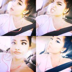 Becky selfies!
