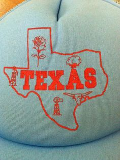 Hey, I found this really awesome Etsy listing at https://www.etsy.com/listing/151405168/texas-baseball-trucker-snapback-cap