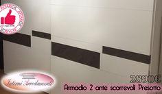 Armadio 2 Ante Scorrevoli Presotto Da Interni Arredamenti http://affariok.blogspot.it/2016/06/armadio-2-ante-scorrevoli-presotto-da.html