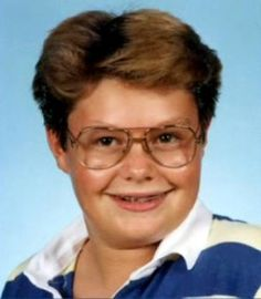 Ryan Seacrest ... bet he doesn't show this pic to too many people!!! He certainly has grown out of that awkward stage now.