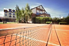 Tristan Hotel & SPA / tennis court #hotel #spa #baltic #sea