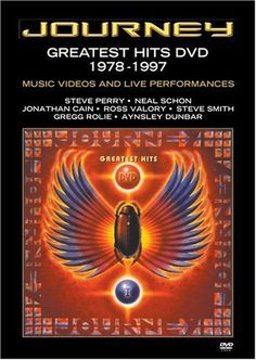 Journey - Greatest Hits DVD 1978-1997 - Music Videos  Live Performances - A compilation of the band's top music videos, also including live footage.It will be many years before Journey's music will be known as anything  but soupy '70s arena rock