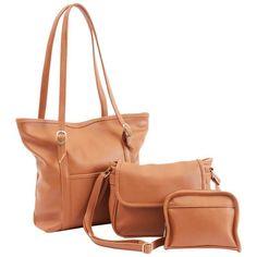 7bd23a2b2e6 Details about Caboodles Wristlets Purse Size Bags.. New 3 Pc Set USA