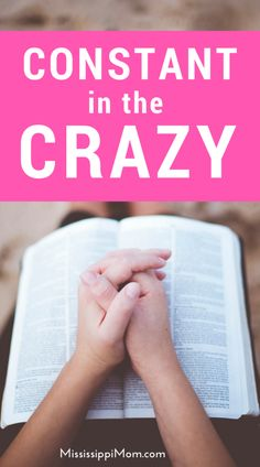 Life is crazy. We all need something constant to hang on to when things get a little out of hand. Where do we find the constant in the crazy? Christian Marriage, Christian Women, Christian Living, Christian Faith, Spiritual Disciplines, Spiritual Practices, Spiritual Growth, Spiritual Encouragement, Christian Encouragement