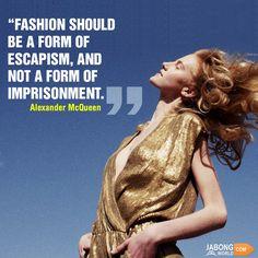 #ThoughtfulFridays #Fashion #Quotes #Freedom #Escapism