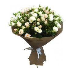 Артикул: 035-123                       Расскажите о нас друзьям: Состав букета: 35 веток кустовой розы белого и розового цвета, оформление Размер: Высота букета 50 см Роза: Выращенная в Украине http://rose.org.ua/bukety-iz-roz/1166-klassika.html #букеты #букетроз #доставкацветов #RoseLife #flowers #SendFlowers #купитьрозы #заказатьрозы   #розыпоштучно #доставкацветовкиев #доставкацветовукраина #срочнаядоставка #заказатьрозыкиев