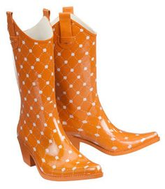 7 Savvy Shoe Storage Solutions | Rain, Boots and Orange boots
