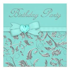 =>>Cheap          Elegant Silver Teal Blue Birthday Party Custom Invitation           Elegant Silver Teal Blue Birthday Party Custom Invitation so please read the important details before your purchasing anyway here is the best buyDeals          Elegant Silver Teal Blue Birthday Party Custo...Cleck Hot Deals >>> http://www.zazzle.com/elegant_silver_teal_blue_birthday_party_invitation-161589778857325126?rf=238627982471231924&zbar=1&tc=terrest