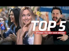 Pepsi addresses their controversial Kendall Jenner ad, Shia Labeaouf's latest movie sells 1 ticket, and more stories you might have missed. Kendall Jenner Ad, Shia Labeouf Movies, Fate Of The Furious, Admit One, Latest Movies, Pepsi, Red Carpet, Ads, Live