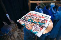Газета Symbol News в киевском бутике Symbol Passage