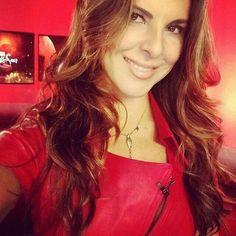 Kate del Castillo in Red #lareynadelsur