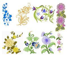 Ai pessoal mais uma vez trazendo material gratuito e de qualidade!  Matriz: Florais  Quantidade: 14  Formato: .jef (porém pode ser convertido em qualquer formato de máquina) Clique aqui   Observação 1 :   #bordados #florais #gratis