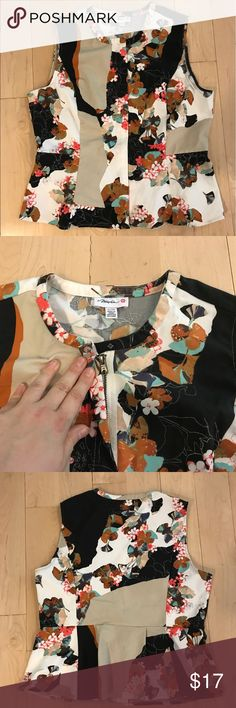 3.1 Phillip Lim for Target floral top size XL 3.1 Phillip Lim for Target floral printed top, front zip closure, size XL. Bust: 44 inches. Length: 23 inches. 3.1 Phillip Lim for Target Tops Blouses