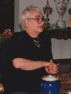 Szász Endre 1994-ben  (Csíkszereda 1926- Mosdós 2003)