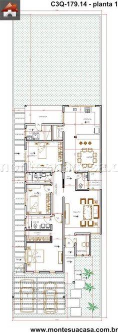 Casa 2 Quartos - 179.14m²