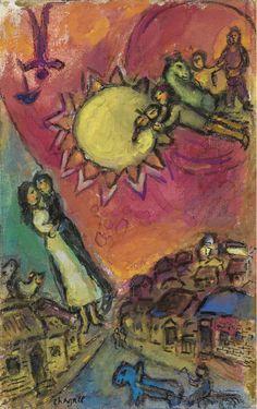 Marc Chagall Le grand soleil