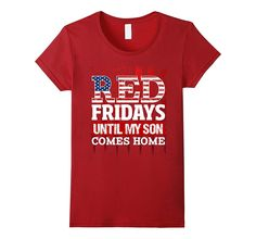 Red Friday - Remember Military Son Deployed Shirt