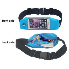 Waist Pack, Smarco Adjustable and Touchscreen Running Belt for iPod, Keys, Cash and Credit Cards - Ideal. - of the month ideas Running Belt, Country Sweatshirts, Discount Handbags, Bank Card, Waist Pack, Workout Gear, Credit Cards, Jogging, Ipod