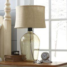 Sheffield Glass Table Lamp #birchlane