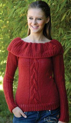 Free Universal Yarn Pattern : English Rose