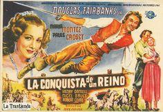 La Conquista de un Reino - Programa de Cine - Maria Montez - Douglas Fairbanks Jr.