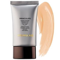 Browse unbiased reviews and compare prices for Hourglass Immaculate Liquid Powder Foundation Mattifying Oil Free. This foundation has a very nice finish and great coverage. However if you have oily or combo skin this will not be your best friend. For dry or normal skin I can see this looking amazing and lasting all day. For my combo skin it looked beautiful for about an hour before it started to bunch into the smile lines on my face. It became greasy and made my face look like I splashed a…