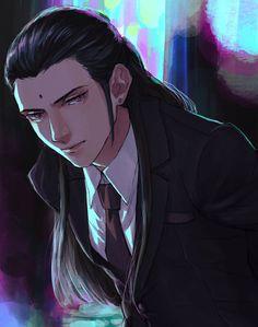 Final Fantasy Artwork, Final Fantasy Vii Remake, Fantasy Series, Character Concept, Character Art, Character Design, Anime Boy Long Hair, Fantasy Characters, Anime Love