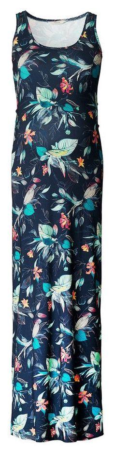 NOPPIES Kleid »Neve« für 79,99€. Umstandskleid Neve von Noppies, Aus luftig anfühlendem Material, All-over Muster mit tropischen Blumen bei OTTO