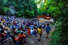 A show at the Forest Theater