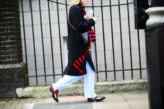 On the Streets of London Fashion Week Fall 2015 - London Fashion Week Fall 2015 Street Style Day 5
