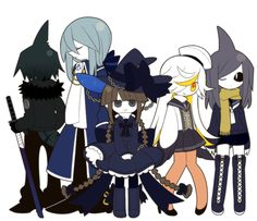 Wadanohara and the Great Blue Sea / True Ending / Even after all those years, Wadda still hasn't grown an inch.