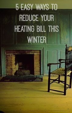For those who keep a thrifty home or want to reduce their bills here are some really easy ways to reduce your heating bill and still keep warm on a budget