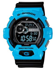 Blue G-Shock Watches 2015 | http://crackwatches.com/blue-g-shock-watches-2015/