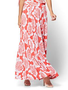 Women's Clothing Reasonable Festival Print Midi Skirts Brightly High Waisted Maxi Skirt Long Casual Floral Big Swing Skirts Hot Sale T6 Modern And Elegant In Fashion