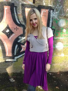 A Purple Spring Day  http://www.hannoverfashion.com/outfit/a-purple-spring-day/