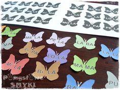 Sylabowe zabawy motyle ~ Pomysłowe Smyki