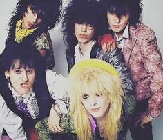 Hanoi Rocks!  Mike! #hanoirocks #michaelmonroe #samiiyaffa #andymccoy #nastysuicide #razzle