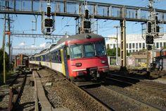 Swiss Railways, Switzerland, Trains, Electric, The Unit, Locomotive, Train