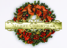 CHRISTMAS ONCE AGAIN  It's Christmas once again and the festive holiday decor leaves no doubt. Invite your clients and associates to enjoy the season with this holiday card's cheerful wreath design. - See more at: http://greetingcardcollection.com/products/holiday-cards-holiday-greetings/349-christmas-once-again