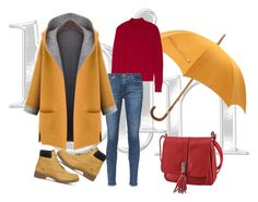 """""""Untitled #16"""" by vanessa-fashion123 ❤ liked on Polyvore featuring Hermès, Theory, AG Adriano Goldschmied, WithChic and Timberland"""