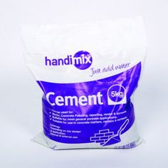 Handi Mix 5KG Cement No Waste, Cookies Policy, Cleaning, Home Cleaning