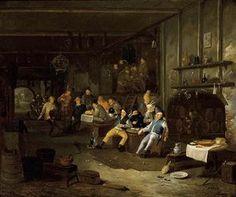 Interior of an Inn - (Egbert Van, The Younger Heemskerck)
