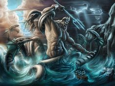 I got: Poseidon's! Whose Greek God/Goddess child would you be?