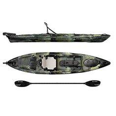 Amazon.com : Vibe Sea Ghost 130 Angler Kayak : Sports & Outdoors