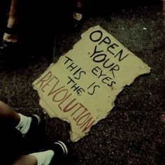 """I look down at the sign. The Revolution? This is the Revolution. This is war. And I started it."""" I think. Story Inspiration, Writing Inspiration, Estilo Punk Rock, Open Your Eyes, Infp, Revolutionaries, Writing Prompts, Wall Collage, Aesthetic Pictures"""