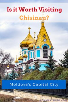 Okay, Moldova is a great country to visit, but how about its capital city? Is it worth visiting Chisinau? My answer is yes and here are the reasons why. Moldova Country, Countries To Visit, Eastern Europe, Capital City, European Travel, Cool Places To Visit, Romania, Travel Guides, Travel Inspiration