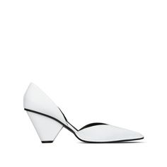 White Pointed Shoes - Stella Mccartney Official Online Store - FW 2016 - 2017