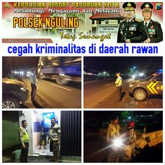 Polresta Pasuruan Berikan Keamanan dengan selalu Patroli di Wilayah Rawan