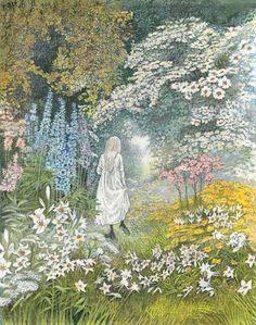 çizgili masallar: The Secret Garden by Inga Moore Part 2