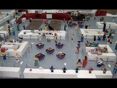 Tour: BrickFair New England 2015 LEGO convention - YouTube